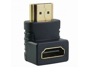 Adaptateur HDMI coudé 90° Male / femelle