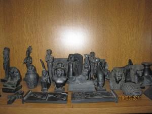 Figurines des  Dieux Egyptiens