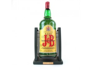 Ancien support à bascule pour bouteille de 3 litres de JB