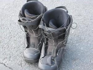 Chaussures de surf noires - matériel de ski