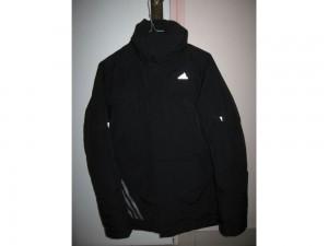 Blouson-doudoune noir Adidas