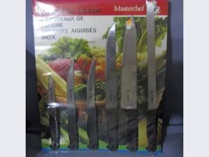 6 couteaux de cuisine Masterchef