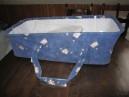 Nacelle (lit auto) avec harnais de sécurité