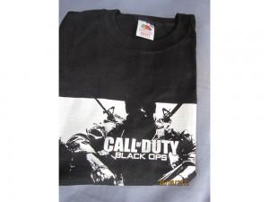 Tee shirt noir Call of Duty Black Ops