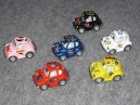 6 coccinelles miniatures