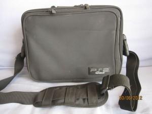 Sacoche noire en nylon pour PS2