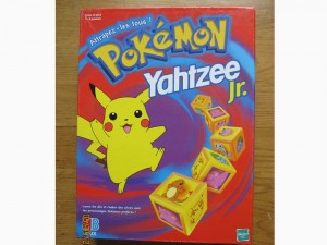 Pokemon Yahtzee Jr