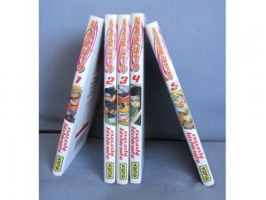 Naruto tomes1, 2, 3, 4 et 5