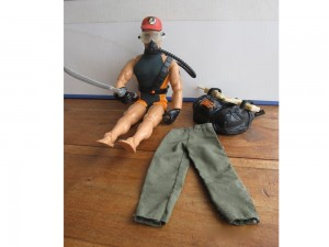 Action Man plongeur