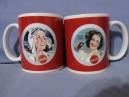 4 Mugs Coca-Cola