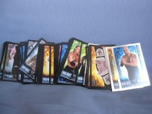 Cartes Slam Attax Raw
