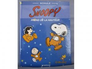 Snoopy prend de la hauteur