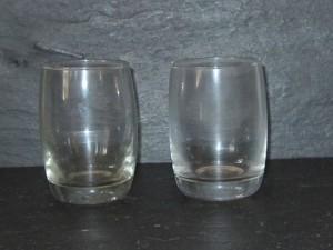 10 verrines en verre