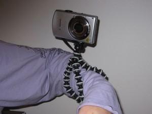 Trépied 17cm pour appareil photo et camescope