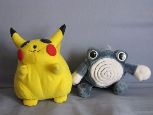 2 peluches POKEMON