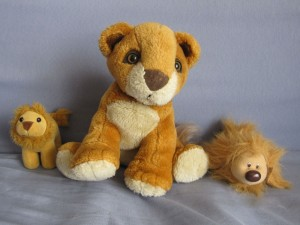 Peluches Lions