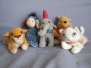 lot de 5 peluches Walt Disney