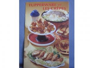 Tupperware et les crêpes - Livre de cuisine