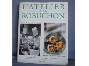 L'atelier de Joël Robuchon - Livre de cuisine