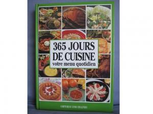365 jours de cuisine - Livre de cuisine
