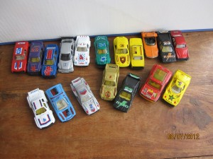 Lot de 18 voitures