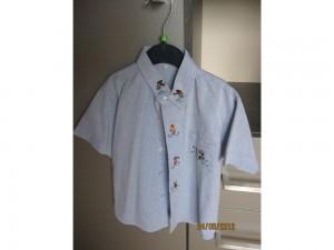 Chemise bleue enfant - taille 4ans