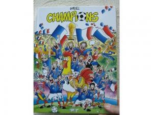 Champions - Bande dessinée