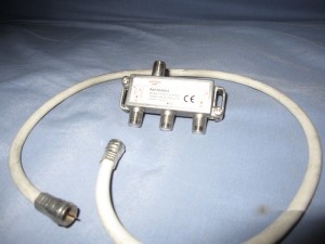Répartiteur Tonna télé 3 voies - 5-862 MHz