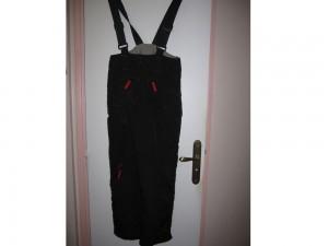 Pantalon de ski noir et rouge 14 ans