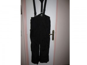 Pantalon de ski noir taille L