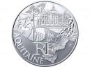 10 € en argent de 2011 de la région Aquitaine