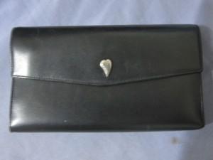 Compagnon LANCASTER noir en cuir