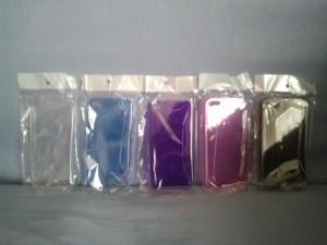 Coque arrière transparente ultra fine pour iPhone 5