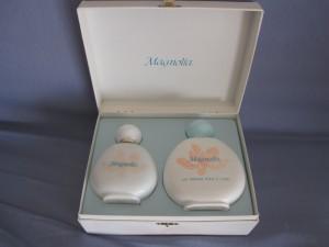 Magnolia Eau de toilette et lait parfumé pour le corps