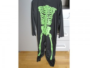 Déguisement d'Halloween  Squelette - 11/14 ans