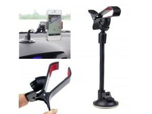 Support ventouse Universel Voiture Compatible Téléphone Portable Ipod PDA