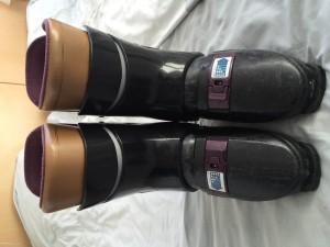Chaussures de ski noires SALOMON