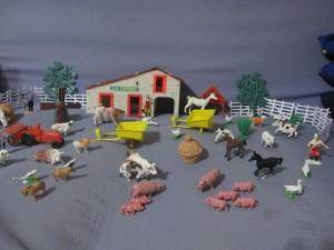 Ferme, animaux et fermiers